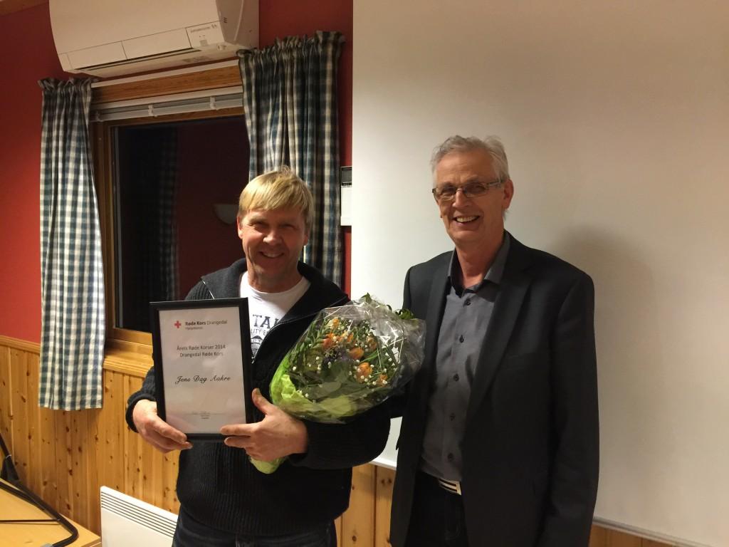 Årets Røde Korser, Jens Dag Aakre